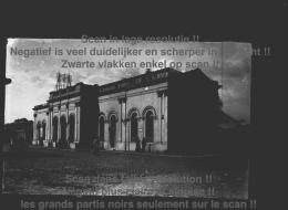 OUDE GLASPLAAT FOTO NEGATIEF ** LEUZE GARE STATION  ** PLAQUE DE VERRE NEGATIF - Leuze-en-Hainaut