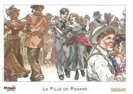 """KAS  -  Ex-libris """"La Fille De Paname, Tome 1"""" - Illustrateurs J - L"""