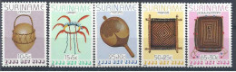 1983 SURINAM 927-31** Enfance, artisanat