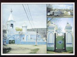 CPM Neuve Moldavie Maisons Et Eglise Dans La Vallée Du Raut - Moldavie