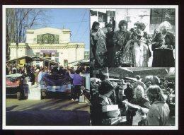 CPM Neuve Animée Moldavie Au Grand Marché De Chisinau Une Des Entrées Du Marché - Moldavie