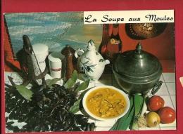 EZM-19  Soupe Aux Moules Pour 6 Personnes De Emilie Bernard Recette Au Dos. Non Circulé - Recettes (cuisine)