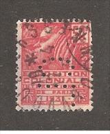 Perforé/perfin/lochung France No 272 CL  Crédit Lyonnais (224) - Frankreich
