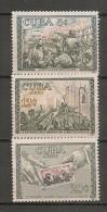 CUBA - Posta Aérienne - Air Mail  - BIRDS - Yvert # A 204/6 - * MINT (Light Trace Of Hinge) - Airmail