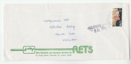 1989 MALTA Stamps COVER  With ´DELIVERY THROUGH PO BOXES´ Cachet - Malta