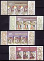 UKRAINE 2015. TATARS, THE NATIVE PEOPLE OF THE KRYM. Mi-Nr. 1472-75 X 3, The Top Edges Of Sheets. Mint (**) - Ukraine
