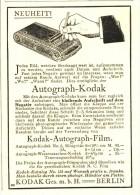 Original-Werbung/ Anzeige 1915 - KODAK AUTOGRAPH / FILM - Ca. 70 X 100 Mm - Publicités