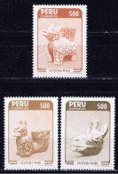 PE+ Peru 1985 Mi 1304-06 Mnh Wari-Kultur - Peru