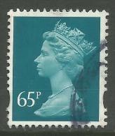 GB 2000 QE2 65p Greenish Blue Machin SG Y1734....( A1352 ) - 1952-.... (Elisabeth II.)