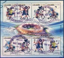 Colombia 2012 Used. Minipliego. Juegos Olímpicos De Londres.  See Desc. - Colombia