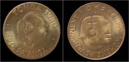 Gold Tonga 20 Pa'anga 1980 - Tonga