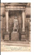 02 LA FERTE-MILON : Statue De Racine Par David D´Angers / CPA Imp Befort-Dupuis Voy. 1925 (T. Pasteur) Bon Etat