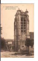 02 LA FERTE-MILON : Eglise Notre-Dame / CPA Imp. Befort-Dupuis NON CIRCULEE / B.E. Dos Sale !!