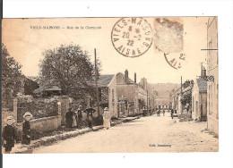 02 VIEILS-MAISONS : RUE De CHARMOIS / CPA Edit. Doumeng Voyagée 1922/  Etat Médiocre Sans Timbre !!