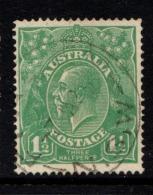 "Australia    1918-1923   ""11/2d   Blue Green""    VFU   (0)"