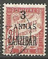 ZANZIBAR TAXE N�  4 OBL