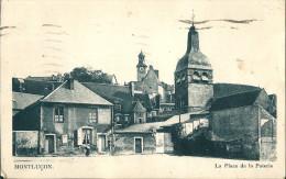 03  MONTLUCON  -   La  Place   De La Poterie  , En 1940 - Montlucon