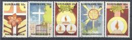1984 SURINAM 944-48** P�ques
