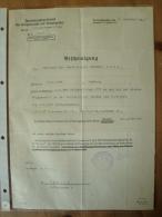 Bescheinigung Für Für Teilnahme Der Feldartl. Regt. 272 An Der Schlacht Von Verdung 1916, Und Verleihung EK2 + EK 1 !! - Dokumente