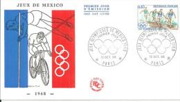 Cyclisme  12 10 1968 Jeux De Mexico - Ciclismo