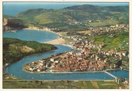 P305 - POSTAL - PLENCIA Y GORLIZ - VISTA AEREA - Vizcaya (Bilbao)