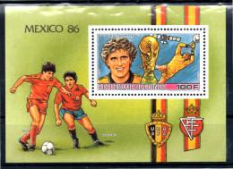GUINEE     BF  Luxe  808  * *  ( Pfaff )   Cup 1986      Soccer  Fussball  Football - Coppa Del Mondo