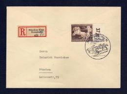 DR 1940, R.- Brief Mit 747, Tag Des Intern. Hindernissportes, SST 21.7.40 - Germania