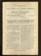 - MACHINES A CALCULER . BREVET D´INVENTION DE 1903 . - Sciences & Technique