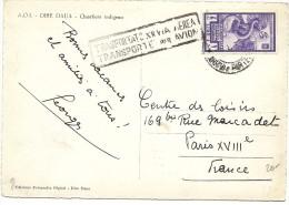LBL33/B -ITALIE AOI  BIMILLENARIO AUGUSTEO TP AVION 1L SUR CP VOYAGEE - Afrique Orientale