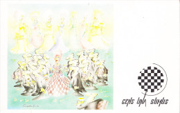 CHESS-HUMOR, 16 POSTCARDS - Schach