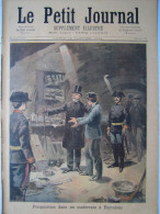 REVUE PETIT JOURNAL ILLUSTRE 1894 N�165 ANARCHY ANARCHIE ANARCHISTE POLICE GENDARME GARDIEN PAIX BARCELONE BARCELONA