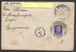 Documento Storico: Lettera A Lavoratore Italiano In Germania Durante L´ultima Guerra - Manuscrits