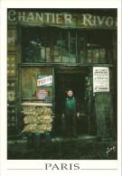 PARIS  75 PARIS INSOLITE   COMMERCE ENTREPOT BOIS  COMBUSTIBLE  EDIT. YVON  ECRITE CIRCULEE 1999 - Formación, Escuelas Y Universidades