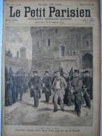 REVUE PETIT PARISIEN ILLUSTRE 1894 N�286 ANARCHY ANARCHIE ANARCHISTE SALVADOR ESPAGNE SPAIN
