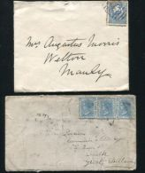 NEW SOUTH WALES AUSTRALIA RAILWAY TRAVELLING POST OFFICE 1882/89 - Postmark Collection