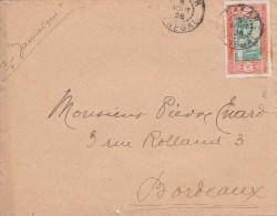 Sénégal Yvert  82  Sur Lettre DAKAR 5/8/1928 - Storia Postale