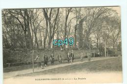 Bdr - 49 - CHOLET - école - Nazareth - La Prairie - Jeu De Croquet - RARE VISUEL- édition F.G - Cholet