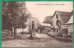 SAINT SYLVAIN MONTAIGUT - PLACE DE L'EGLISE - France