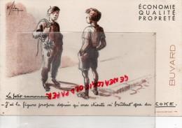 BUVARD  RAMONAGE- LE PETIT RAMONEUR - COKE  RAMONAGE - Buvards, Protège-cahiers Illustrés