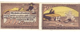 Notgeld -50-50 Pfennig 1922  LOTTO 1213 - [ 9] Territori Tedeschi Occupati
