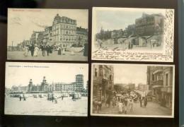 Grand lot de 400 cartes postales de Blankenberge   Groot lot van 400 postkaarten van Blankenberge  -  50 scans
