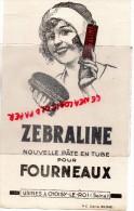 94 - CHOISY LE ROI - BUVARD ZEBRALINE - PATE POUR FOURNEAUX- - Buvards, Protège-cahiers Illustrés