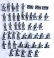 équivalence BOITE AIRFIX 01749 WATERLOO FRENCH IMPERIAL GUARD 1/72 48 Pièces COMPLET No Atlantic Esci... - Army