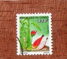 REP.  DU  CONGO  --  NTONDOLO  -- FRUIT  SAUVAGE  CONGOLAIS  --  **  270  F. ** --  POSTE  2002.......... - Used