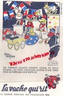 BUVARD - LA VACHE QUI RIT - LE CIRQUE N° 9- ANIMAUX SAVANTS - POUSSETTE  - FROMAGE BEL - Food