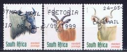 RSA+ Südafrika 1998 Mi 1124 1126-27 Tiere - Used Stamps