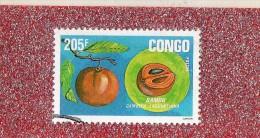 CONGO  --  LE  BAMOU  --  FRUIT  TROPICAL  --  ** 205  F. ** POSTE  1994......... - Used