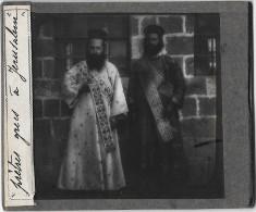 4 Plaques Stéréoscopiques Moyen Orient 1900 - Diapositives