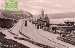 Postcard - Plymouth Promenade Pier Entrance, Devon. 1557 - Plymouth