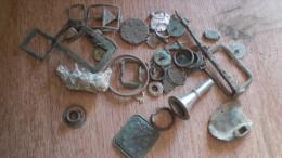 Lot D'objets Métalliques De Détection - Archeologie